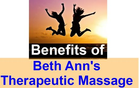 Shortcut: Beth Ann's Therapeutic Massage Benefits